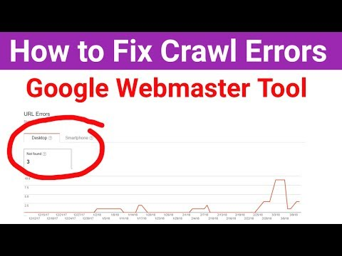 How to Fix Crawl Errors in Google Webmaster Tools [Hindi]