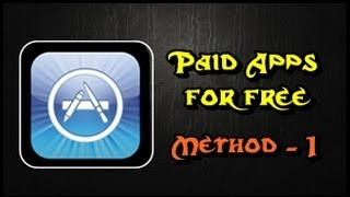 How To Get Paid Apps For Free Without Jailbreak Method 1 Ios 7 And 6
