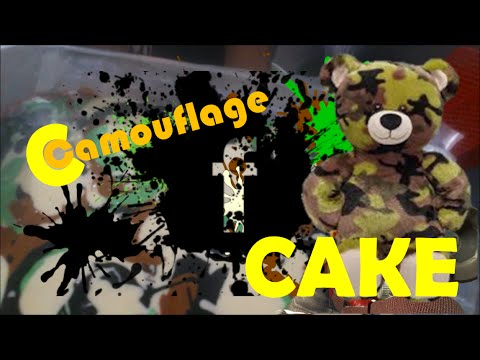 Modern Wifey and Mommy Camouflage Cake Tutorial Youtube