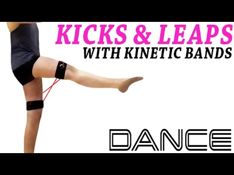Dance Jumps: Kicks & Leaps with Resistance Bands - Kinetic Bands