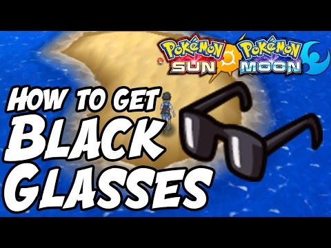 How to Get Black Glasses Location – Pokémon Sun and Moon Black Glasses Location