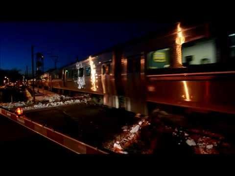 MONTREAL AMT COMMUTER TRAINS - ROXBORO STATION