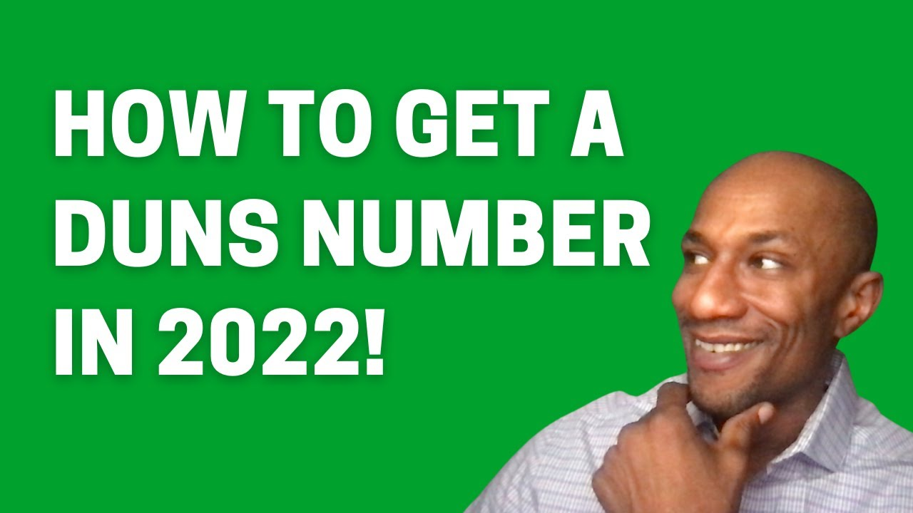 What is a DUNS Number? How To Get Duns Number Fast 2021 - How to Get Duns Number Free Self-Employed