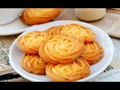 Best Butter Cookies Recipe made at Home ♥ Eggless Butter Cookies ♥ Really Melt In Your Mouth ♥
