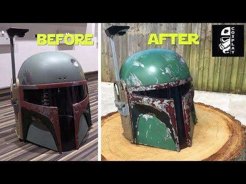 Hasbro Boba Fett Helmet Conversion