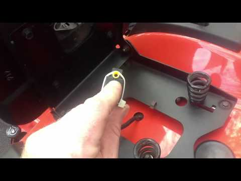 Simplicity tractor how to disable the seat switch cut off