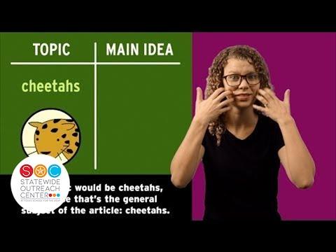 Brain Pop - Main Idea