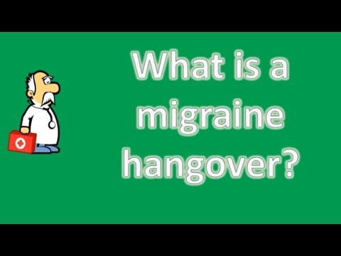What is a migraine hangover ? | Health Channel