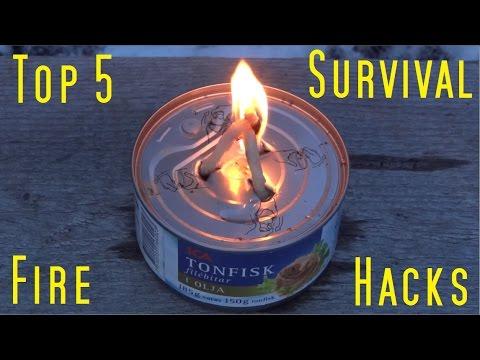 Top 5 Survival Fire Hacks.