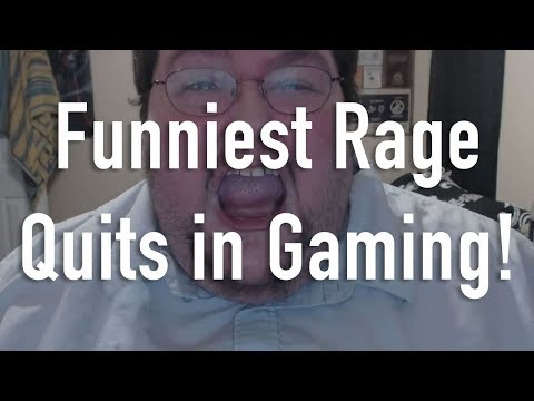 8 Funniest Rage Quits in Gaming
