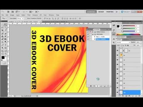 How to create 3D Ebook Cover Automatically Using Photoshop Action