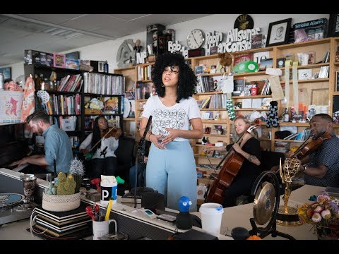 Violents & Monica Martin: NPR Music Tiny Desk Concert