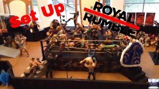 Royal Rumble action figure Set Up