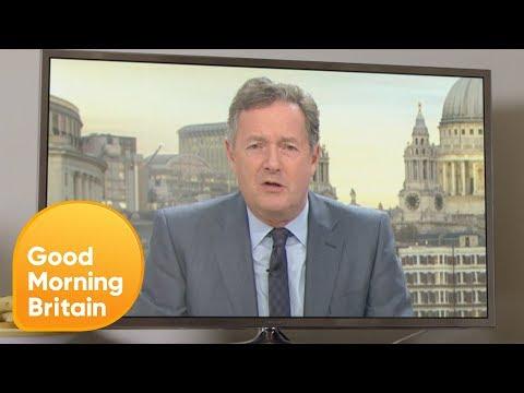 Good Morning Britain Explosion - Piers | Good Morning Britain
