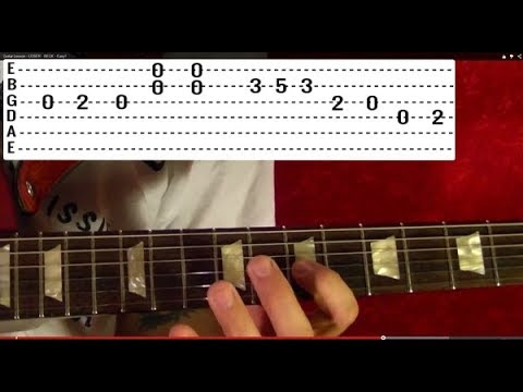 You Shook Me All Night Long Solo by AC/DC - Guitar Lesson ♪ ♫ ♪ ♫