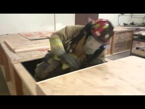 Burley Fire Training prop.... first run!
