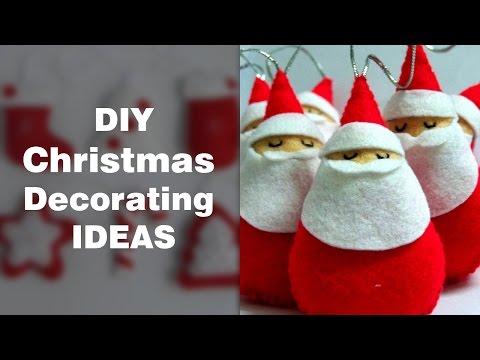 DIY Christmas Decorations Ideas   Home Made Christmas Decorating Items