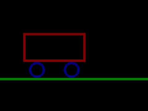 C/C++ Graphics Tutorial 37   How to Move a Car with Arrow Keys