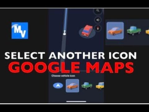 How to use a car icon instead of a arrow icon on Google Maps
