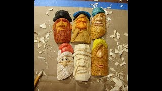 WOODCARVING & WHITTLING 30 MINUTE FACE