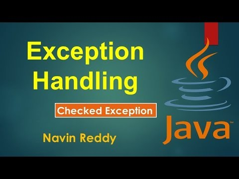 #9.3 Exception Handling | Checked Exception | Finally block