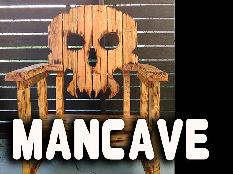 Skull Chair / Man Cave / Video / Make