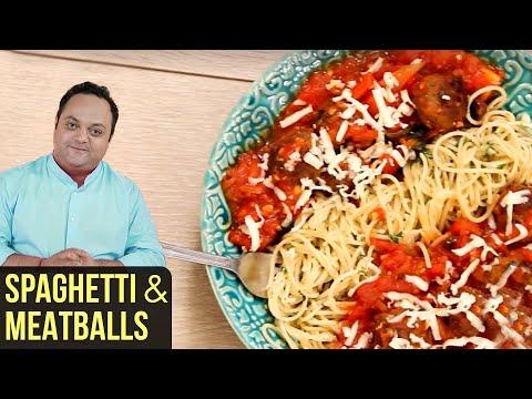Spaghetti and Meatballs with Tomato Sauce | Italian Style Recipe