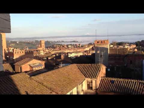 Kathy on top of Siena