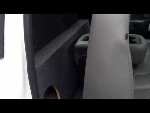 Chevy Standard Cab 2007-2013 subwoofer box. New improved design.