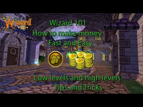 Never run out of gold again in Wizard101!! Make money fast!!