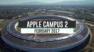 Apple Campus 2 February 2017 Construction Update 4K