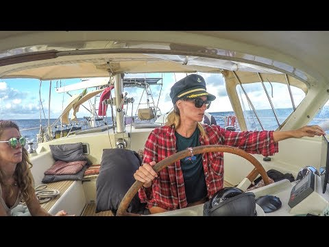 The ATLANTIC ocean, 6 sailors and some cameras! Passage to Brazil Pt. 3 Sailing Vessel Delos Ep.167