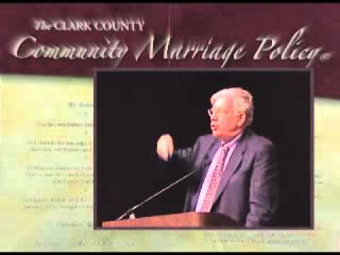 Community Marriage Policy ceremony