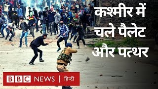 Kashmir के Saura में Protest फिर हुआ हिंसक, आंखों देखा हाल (BBC Hindi)