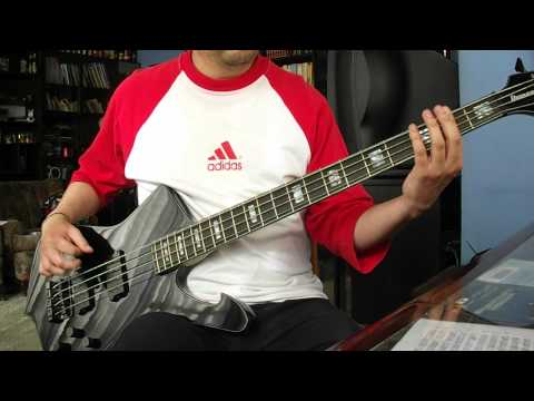 (Mr. Big) Green Tinted Sixties Mind bass cover