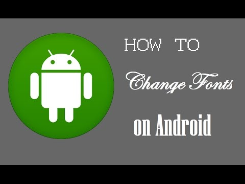 How to change Font Style in android(No-root required) | infotainment