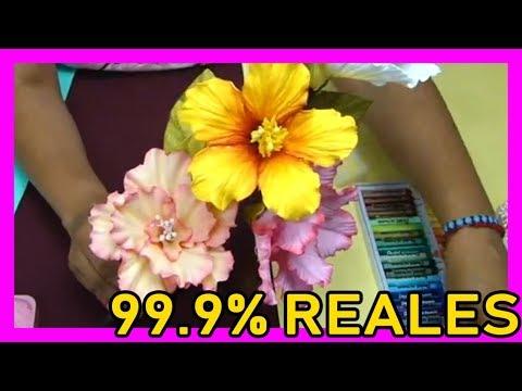 Orquídeas Hechas Con Foamy Muy Facil Caja Kutimuy Vidlyxyz