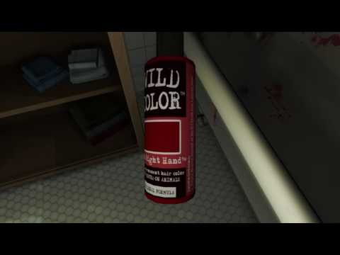 Gone Home: Console Edition - Bathroom commentary (hair dye, tampons)
