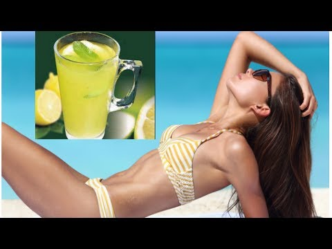 How to Burn Stomach Fat with Daily Lemon Water and Moderate Exercise - Burn Fat With Lemon Water