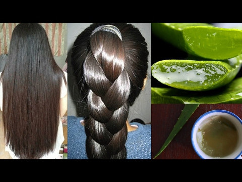 How To Get Long & Thick Hair, Stop Hair Fall & Get Faster Hair Growth with Aloe Vera Gel