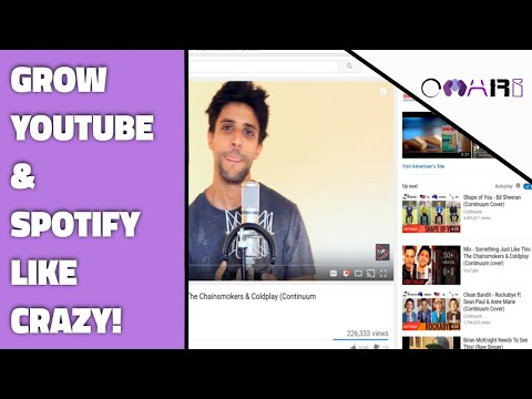 How To Grow Your YouTube Channel Subscribers & Spotify Followers Like Crazy