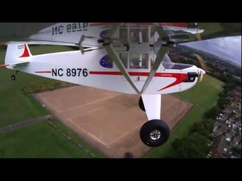 Super Cub last RC flight (crash) Part 1