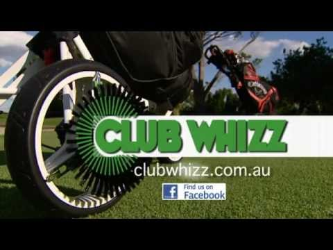 Golf Brush- Golf Club, Shoe & Cart Tyre Cleaner - Club Whizz TV Commercial