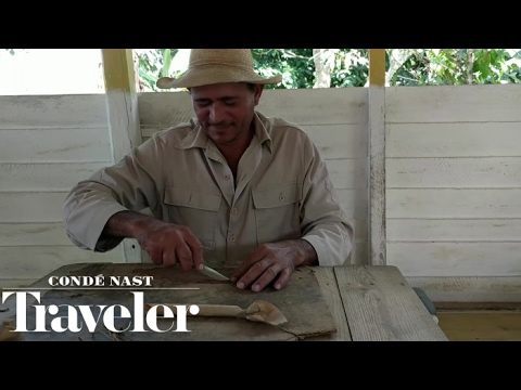 How Cuban Cigars Are Rolled | Condé Nast Traveler
