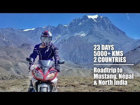 Roadtrip to Mustang, Nepal & North India on Yamaha R15 (Teaser)