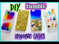 DIY Tumblr Inspired iPhone Cases| Easy & Affordable |