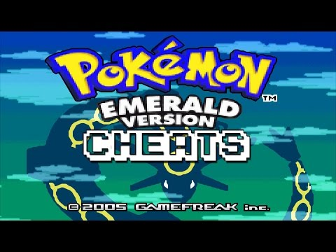 [Tutor]Pokemon Emerald Version-GBA Emulator CHEATS!!!!!
