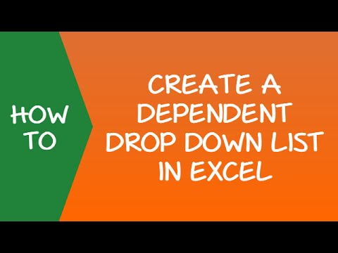 How to Create a Dependent Drop-Down List in Excel