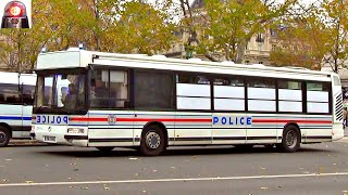 Voitures de Police Nationale Compilation // Paris Police Cars Responding Lights and Sirens