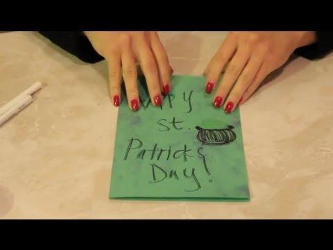 Free St. Patrick Crafts for Kids : DIY Home Crafts